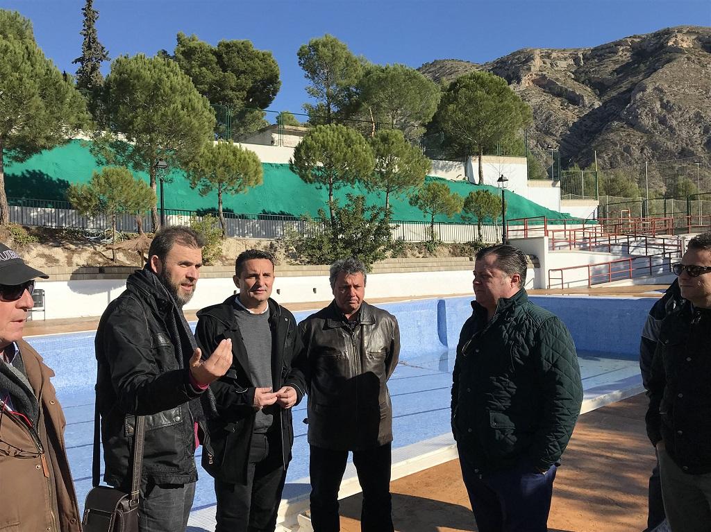 La diputaci d 39 alacant inverteix en la piscina municipal d for Piscina municipal camilo cano